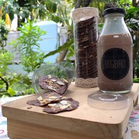 Jual dark chocolate almond cripsy cheese Murah