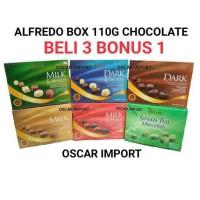 BELI 3 BONUS 1 ALFREDO BOX CHOCOLATE 110GR / COKLAT