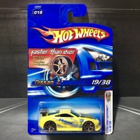 Hot Wheels Nissan Z 350Z Faster Than Ever FTE First Editions 2006 Yell