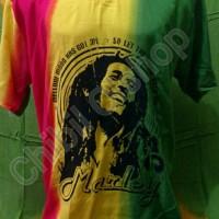 harga Kaos Pantai Merah Kuning Hijau Rasta Reggae Tokopedia.com