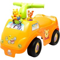 Mainan Anak Mobil Dorong Pooh LIGHT AND SOUND POOH ACT RIDE ON