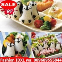 Jual 159 Penguin Onigiri Ball Sushi Tool Set Roll Making Kit  Murah