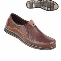 Sepatu Pria Bahan Kulit Loafers ts 3112 Zeintin