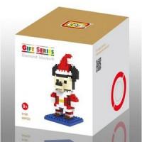 Jual  Loz Lego Nano Block Mickey Mouse Santa KODE TR5298 Murah