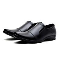 Sepatu Kerja Pantofel Kantor Formal Pria Kulit Murah Berkualitas JT100