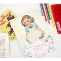 Jual AQ7228 Paper Doll Mate Coloring Book  Buku Mewa KODE X7228 Murah