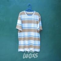 Kaos T-Shirt Belang Original Airwalk Warna Krem Coklat Size Ukuran XL