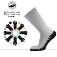 Jual Kaos kaki kanik jempol telapak hitam muslimah size xl abu hitam putih Murah