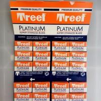 Treet Platinum Silet Cukur untuk barbershop dan pangkas Rambut