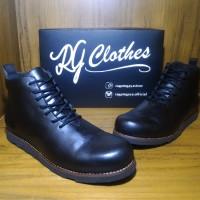 Jual Promo Sepatu Boots Safety Pria Ragamgaya Varko (Kickers, Caterpillar) Murah