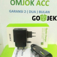 harga Charger Sony Quick Charger Uch10 Output 2a Original 100% Tokopedia.com