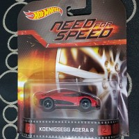 Hot Wheels Need for Speed ed (Koenigsegg Agera R) Red