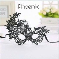 Jual Black Sexy Lace Eye Party Mask Halloween Carnival Costume / Topeng Murah