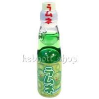 Hata Kosen Ramune Melon [Minuman soda Rasa Melon] 200 ml