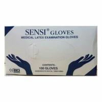 Harga sensi gloves sarung tangan karet latex alat untuk kesehatan isi | antitipu.com