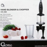 Jual Hand Blender & Chopper OXONE OX-292 Murah