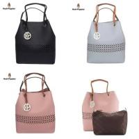 Jual new arrival handbag hush puppies ori Murah