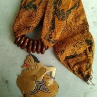 Jual kalung batik wayang kulit - semar Murah