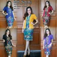 Jual Rok n Blus Batik Solo. RnB Batik Barong Series Murah