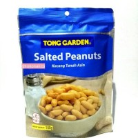 Tong garden salted peanuts 180gr