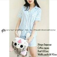 Harga pajamas stripy line new tsum dora dora nobi | antitipu.com