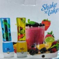 Jual Shake n Take 3, Alat pembuat Jus Juicer Mini Blender tabung 2 Sake Murah