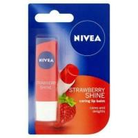 Nivea Lip Balm strawberry shine