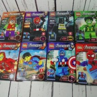 minifigure lego kw superhero set 8