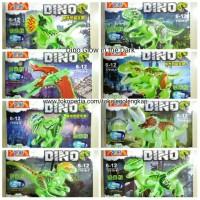 Jual YG 77010 lego Dino jurassic world Glow in the Dark YG77010 dinosaurus Murah