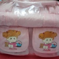 tas bayi diaper bag little baby pink eks kado