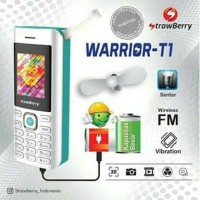 STRAWBERRY WARRIOR T1 HP UNIK BS KIPAS ANGIN LAMPU MANCING