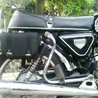 SIDE BAG Tas samping motor Honda CB GL C70 CG C700 dan Cafe racer