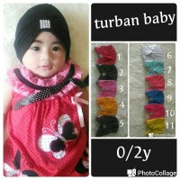 Jual turban baby diamond Murah