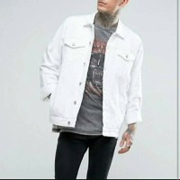 Jaket Jeans Levis Putih Premium Quality