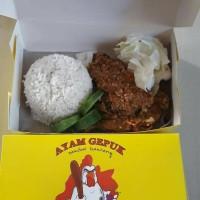 Ayam gepuk Pak Gembus paket Nasi