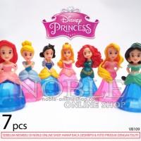 Jual 7 Figure Princess Disney Imut-Cantik/Bidak Monopoli/Hiasan K Terbaru Murah