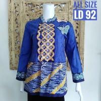 Harga inbs067 blouse batik modern baju atasan wanita murah kemeja kekinian | Pembandingharga.com