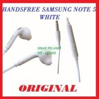 harga Samsung N920 Note 5 S6 S7 White Original Handsfree Headset 904694 Tokopedia.com