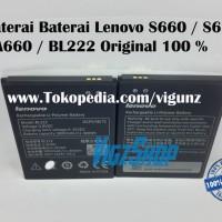 Baterai Battery Batre Lenovo S660 S668T A660 BL222 BL-222 Original
