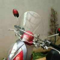 Windshild/Tameng Angin Motor Honda Scoopy&Beat Kaca Bening
