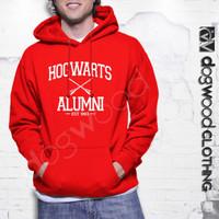 L224 Jaket Hoodies Sweater Hogwarts Alumni Ha KODE PL224