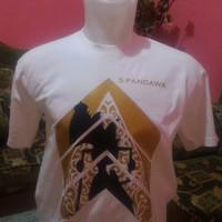 Jual Kaos Wayang Golek 5 Pandawa Murah