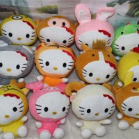 Jual #Boneka Boneka rekam karakter Hello Kitty zodiac shio doll recorded va Murah