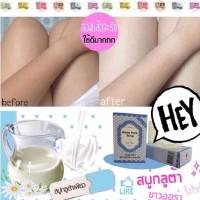 Jual paling dicari Gluta Pure Milk Soap by Wink White Murah
