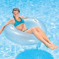 Jual Intex Swim Ring Glossy Crystal Tub 114cm. Ban Pelampung Renang Dewasa Murah