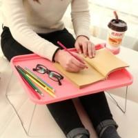 Meja lipat portable travel laptop plastik piknik TERBARU High Quality