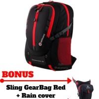 Tas Laptop + Ransel Travel + Backpack Kerja + Gear Bag Kuliah Outdoor