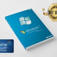 Jual Windows 7 Professional Original Lisensi + DVD Box ( Garansi Lifetime ) Murah