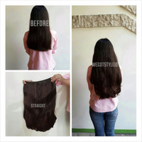 Jual LIMITED Hairclip Big Layer 60cm (1 Layer/FullHead) BEST SELLER Murah