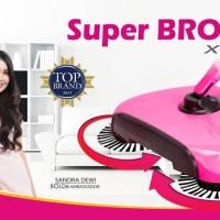 Super BROOM X-TRA Bolde Original Bolde Sapu Ajaib Sapu Otomatis - PINK